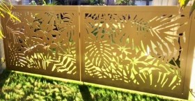 the madagascar custom gate design by Alpha Gate Automation Gold Coast