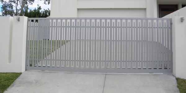 Automatic gate install by Alpha Gate Automation, Gold Coast