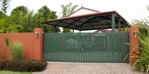 Automatic driveway gate by Alpha Gate Automation, Gold Coast