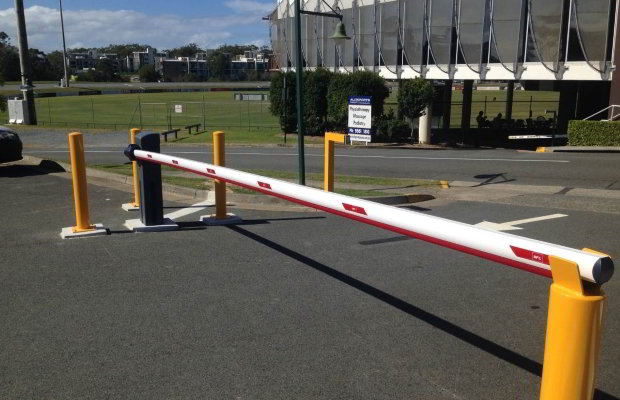 Boom Gates & Access Control @ Southport Sharks AFl Ground, Gold Coast