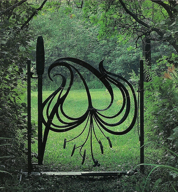 Garden Gate in Verona, Italy